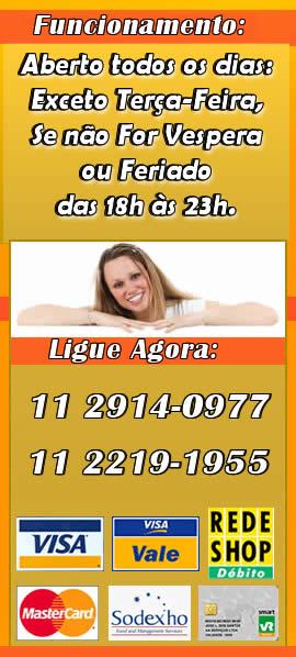 Horário de Funcionamento da Pizzaria Lipoli Ipiranga